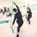 Ladies only HIIT class in action